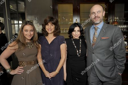 From left, Blair Rich, Kim Masters, Sue Kroll, and Degen Pener attend The Hollywood Reporter: THR Power of Style Luncheon, in Beverly Hills, Calif