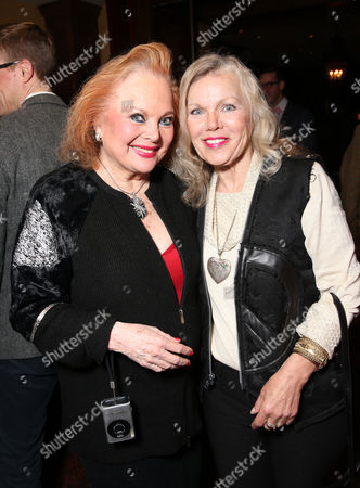 Carol Connors and Merrie Lynn attend LA Opera's Hercules vs Vampires Opening Night at the Dorothy Chandler Pavilion on in Los Angeles