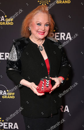 Carol Connors attends LA Opera's Hercules vs Vampires Opening Night at the Dorothy Chandler Pavilion on in Los Angeles