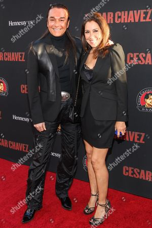 Sandra Chavez Nick Chavez and sister Sandra attend the premiere of Pantelion Films and Participant Media's 'Cesar Chavez' at TCL Chinese Theatre on in Los Angeles