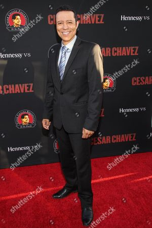 Yancey Arias attends the premiere of Pantelion Films and Participant Media's 'Cesar Chavez' at TCL Chinese Theatre on in Los Angeles