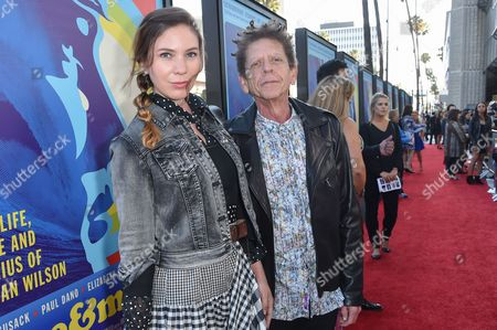 """Noelle Chaplin, left and Blondie Chaplin arrive at the LA Premiere Of """"Love & Mercy"""" at the Samuel Goldwyn Theater, in Beverly Hills, Calif"""