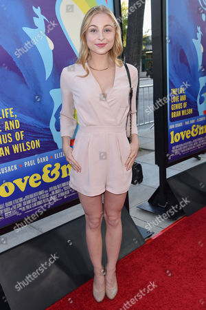 "Shelby Wulfert arrives at the LA Premiere Of ""Love & Mercy"" at the Samuel Goldwyn Theater, in Beverly Hills, Calif"