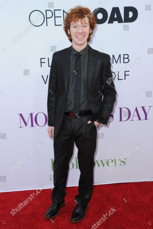 """Grayson Russell arrives at the Los Angeles premiere of """"Mother's Day"""" at the TCL Chinese Theatre on"""