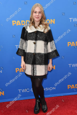 Stock Image of Lauren North arrives at the Los Angeles Premiere of Paddington at the TCL Chinese Theatre, in Los Angeles
