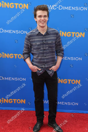Peyton Clark arrives at the Los Angeles Premiere of Paddington at the TCL Chinese Theatre, in Los Angeles