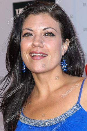"""Stock Image of Tiffany Shepis attends the """"Sharknado 3: Oh Hell No!"""" premiere at iPic Theaters Westwood on in Los Angeles"""