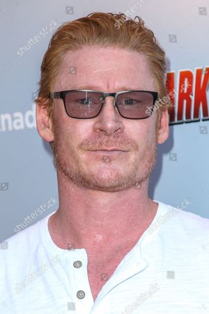 """Zack Ward attends the """"Sharknado 3: Oh Hell No!"""" premiere at iPic Theaters Westwood on in Los Angeles"""