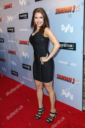 """Editorial picture of LA Premiere of """"Sharknado 3: Oh Hell No!"""", Los Angeles, USA"""