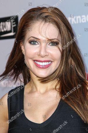 """Stock Picture of Erika Jordan attends the """"Sharknado 3: Oh Hell No!"""" premiere at iPic Theaters Westwood on in Los Angeles"""