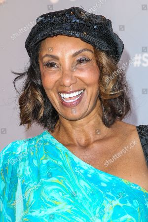 """Downtown Julie Brown attends the """"Sharknado 3: Oh Hell No!"""" premiere at iPic Theaters Westwood on in Los Angeles"""