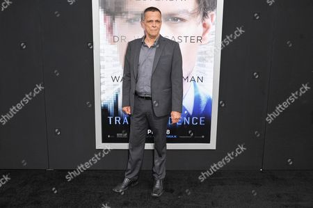 "Editorial image of LA Premiere Of ""Transcendence"" - Arrivals, Los Angeles, USA"