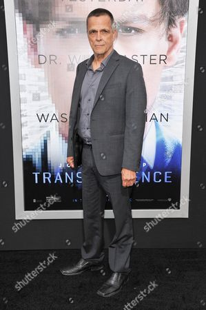 "Stock Picture of James Russo arrives at the LA Premiere Of ""Transcendence"", in Los Angeles"