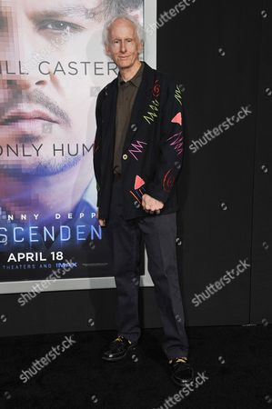 "Robby Krieger arrives at the LA Premiere Of ""Transcendence"", in Los Angeles"