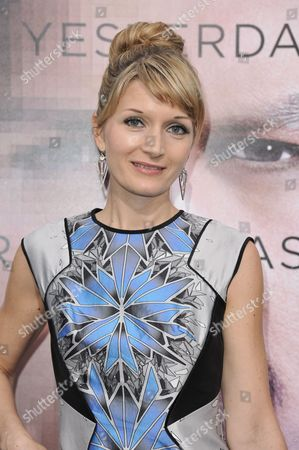 """Editorial image of LA Premiere Of """"Transcendence"""" - Arrivals, Los Angeles, USA"""