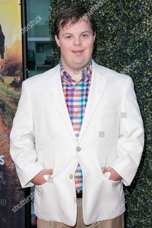"David DeSanctis arrives at the LA Premiere of ""Where Hope Grows"" held at Arclight Cinemas Hollywood on in Los Angeles"