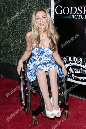 """Stock Picture of Tiphany Adams arrives at the LA Premiere of """"Where Hope Grows"""" held at Arclight Cinemas Hollywood on in Los Angeles"""