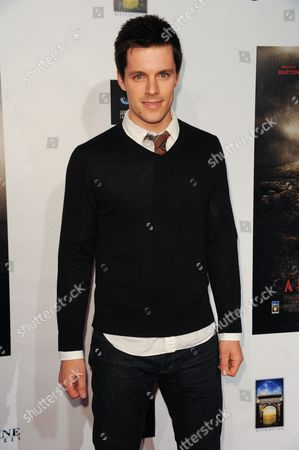 """Nick Jandl arrives at the LA premiere of """"A Resurrection"""" at the ArcLight Cinemas on in Los Angeles"""