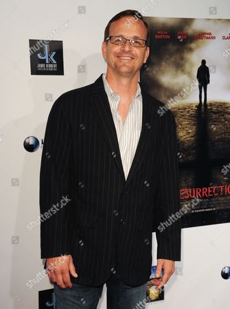 """Matt Orlando arrives at the LA premiere of """"A Resurrection"""" at the ArcLight Cinemas on in Los Angeles"""