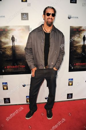 """Matthew Willig arrives at the LA premiere of """"A Resurrection"""" at the ArcLight Cinemas on in Los Angeles"""