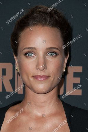 """Jenny Pellicer arrives at the LA Premiere Screening of """"The Bridge"""", in West Hollywood, Calif"""