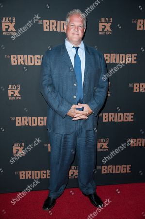"""Abraham Benrubi arrives at the LA Premiere Screening of """"The Bridge"""", in West Hollywood, Calif"""