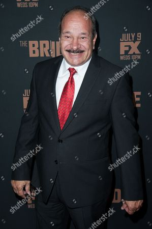 "Juan Carlos Cantu arrives at the LA Premiere Screening of ""The Bridge"", in West Hollywood, Calif"
