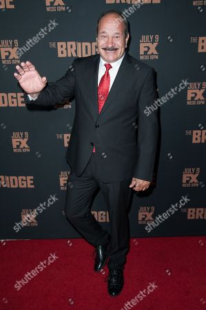 "Juan Carlos Cantu arrives at the LA Premiere Screening of ""The Bridge"", in West Hollywood, Calif"