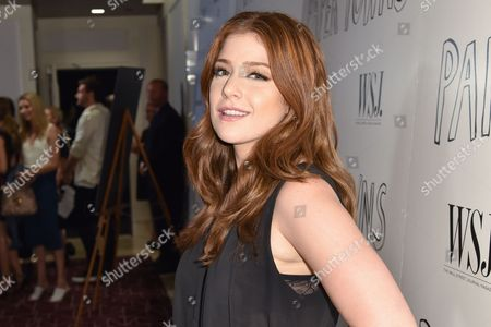 """Mimi Gianopulos arrives at the special screening of """"Paper Towns"""" help at The London Hotel, in West Hollywood, Calif"""