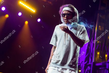 Stock Image of Ab-Soul performs during the Life is Beautiful festival on in Las Vegas