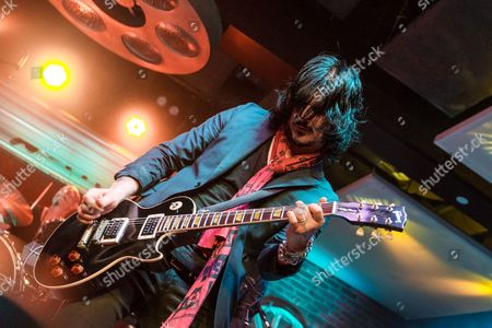 "Gilby Clarke performs during the ""Music On A Mission"" benefit concert held at Lucky Strike Live - Hollywood on in Los Angeles"