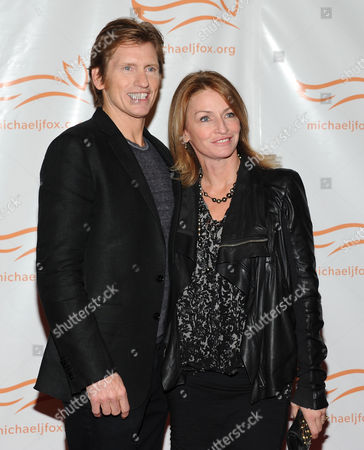 "Actor Denis Leary and wife Ann Leary attend ""A Funny Thing Happened on the Way To Cure Parkinson's"" Michael J. Fox Foundation for Parkinson???s Research benefit at the Waldorf-Astoria Hotel on in New York"