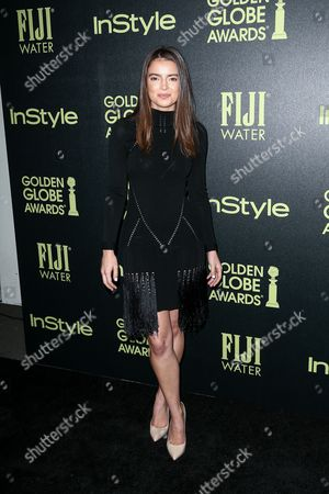 Katherine Hughes attends the Miss Golden Globe InStyle Party held at Ysabel, in West Hollywood, Calif