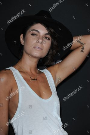 Leah LaBelle arrives at the Myspace event at the El Rey Theater on in Los Angeles