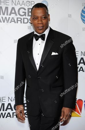 Erik LaRay Harvey arrives at the 44th Annual NAACP Image Awards at the Shrine Auditorium in Los Angeles on