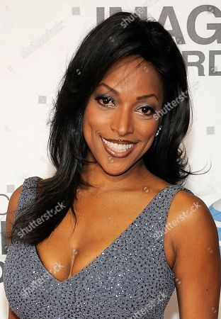 Kellita Smith arrives at the 44th Annual NAACP Image Awards at the Shrine Auditorium in Los Angeles on