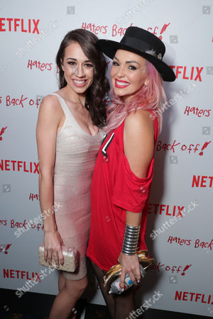 """Colleen Ballinger and Kandee Johnson seen at Netflix original series """"Haters Back Off!"""" Screening Event, in Los Angeles, CA"""