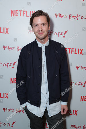 "Erik Stocklin seen at Netflix original series ""Haters Back Off!"" Screening Event, in Los Angeles, CA"