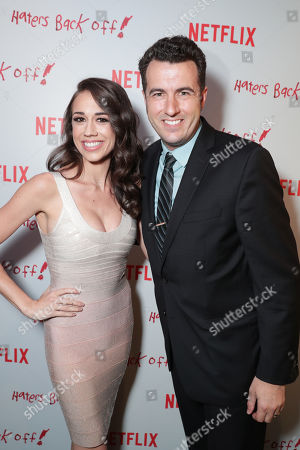 "Colleen Ballinger and Exec. Producer Christopher Ballinger seen at Netflix original series ""Haters Back Off!"" Screening Event, in Los Angeles, CA"