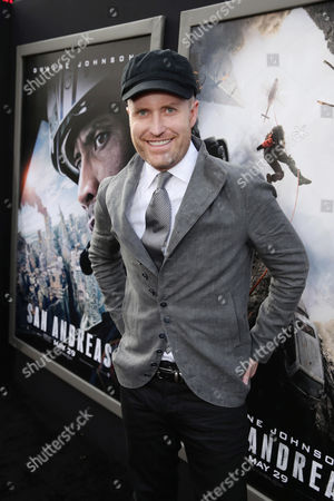 "Composer Andrew Lockington seen at New Line Cinema presents the Los Angeles World Premiere of ""San Andreas"" at TCL Chinese Theatre, in Hollywood, CA"
