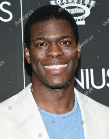 """Kyle Scatliffe attends the premiere of """"Genius"""" at the Museum of Modern Art, in New York"""