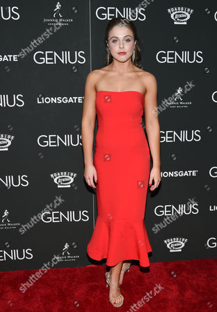 """Stock Picture of Angela Ashton attends the premiere of """"Genius"""" at the Museum of Modern Art, in New York"""