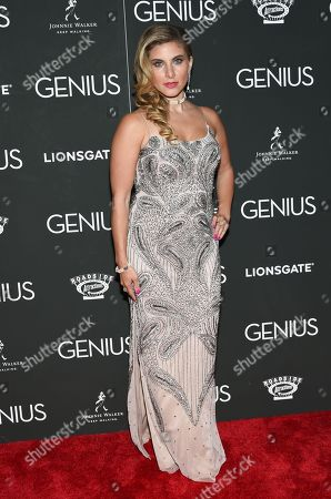 """Stock Photo of Marisa Saks attends the premiere of """"Genius"""" at the Museum of Modern Art, in New York"""