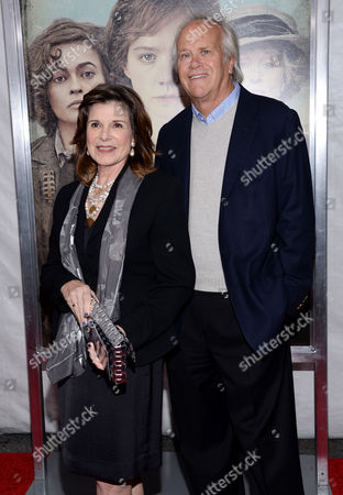 """Stock Photo of Susan Saint James and Dick Ebersol attend the premiere for """"Suffragette"""" at the Paris Theatre, in New York"""