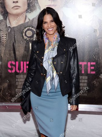 """Editorial image of NY Premiere of """"Suffragette"""", New York, USA"""