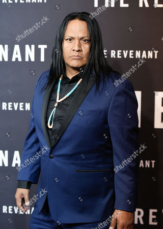 "Actor Arthur Redcloud attends the premiere for ""The Revenant"" at AMC Loews Lincoln Square, in New York"