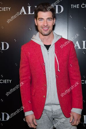 """Model Cory Bond attends a special screening of """"Allied"""", hosted by The Cinema Society, at iPic Theater, in New York"""