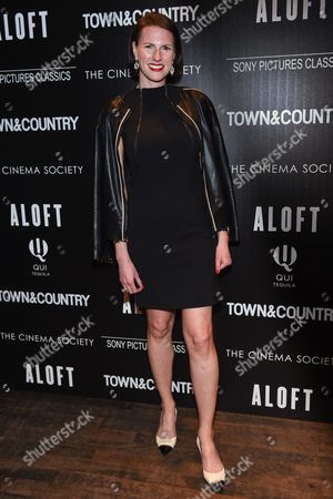 "Stock Picture of Jennifer Levene Bruno attends a special screening of ""Aloft"" hosted by The Cinema Society and Town & Country at the Tribeca Grand Hotel, in New York"