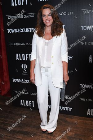 """Director Claudia Llosa attends a special screening of """"Aloft"""" hosted by The Cinema Society and Town & Country at the Tribeca Grand Hotel, in New York"""