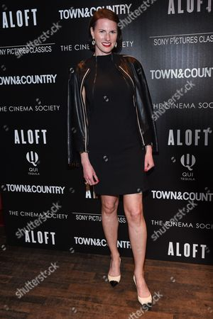 "Stock Photo of Jennifer Levene Bruno attends a special screening of ""Aloft"" hosted by The Cinema Society and Town & Country at the Tribeca Grand Hotel, in New York"